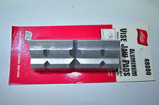 Aluminum Vise Jaw Pads Pair made in USA