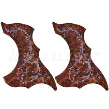 2pcs Hummingbird Acoustic Guitar Pickguard Adhesive Scratch Plate Fit Gibson