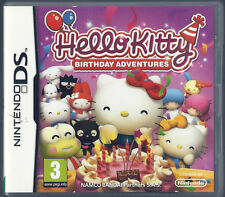 Nintendo Ds Hello Kitty: Birthday Adventures (plays 3DS in 2D)