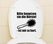 Sticker Toilet lid, Toilets Tattoo, toilet Sticker, Bad Quote, Lettering 3C010