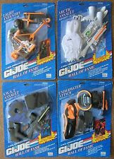 4 G.I.Joe Hall Of Fame Mission Gear-Underwater, Arctic, SWAT, Light Infantry NIP