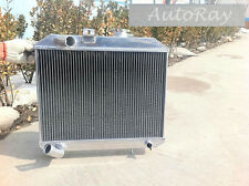 Brand New Aluminum Radiator for Jeep Willys 41-52 3 Rows 48 49 50 51