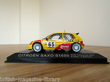 Citroen Saxo S1600 - Rally Catalunya 2002 - D.Sola - A.Romani - 1/43 scale model