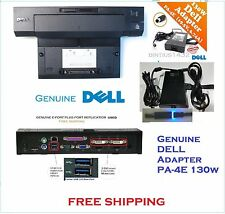 Dell Docking Station USB 3.0 PR02X E-Port Plus Replicator + PA-4E Adapter