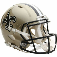 NEW ORLEANS SAINTS RIDDELL NFL FULL SIZE AUTHENTIC SPEED FOOTBALL HELMET