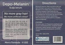 DEPO-MELANIN SCALP SERUM LOT of 3 Bottles