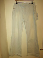 DIESEL Heritage style striped flairlegg flared wide  jeans 29 12 trousers loose