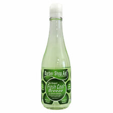 Barber Shop Aid Go Green! Fresh Cool Breeze Antiseptic Aftershave 13oz