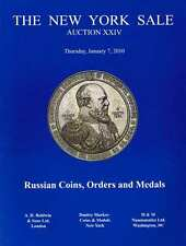 RUSSIAN ORDER COINS MEDAL BADGE SILVER GOLD AUCTION CATALOG REFERENCE BOOK RARE
