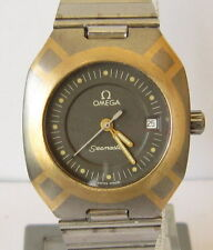 Vintage Swiss Omega Seamaster Polaris Titanium With gold 18kt Womes's Watch #65B