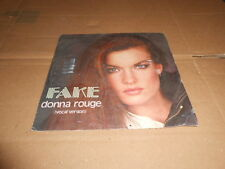 "FAKE DONNA ROUGE 7"" RARO ITALO DISCO"