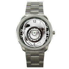 New Mazda RX8 Turbo Rotary Engine Style for Sport Metal Watch free shipping
