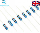 X10 Resistors Between 10 Ohm - 1M Ohm - Metal Film Rated 0.25 Watts - Free Post
