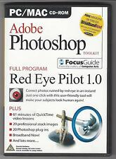 Adobe Photoshop Tool Kit (2004 CD) Red Eye Pilot 1.0, Video Lessons, Stock Image