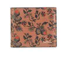 Paul Smith Men's Wallet - 'Logal Floral' Leather Wallet/RRP:£160/BNWT