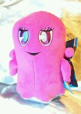PAC-MAN and The Gostly Adventures PINKY GHOST Plush STUFFED ANIMAL Toy NEW Pink