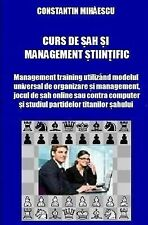 Management Training Prin Sah Stiintific: Curs de Sah Si Management Stiintific...