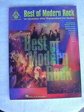 Best Of Modern Rock 12 Christian Hits For Guitar.  Jeremy Camp, Anberlin...more!
