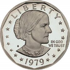 """1979 S Susan B Anthony Dollar US Mint Coin """"Brilliant Uncirculated"""" SBA"""