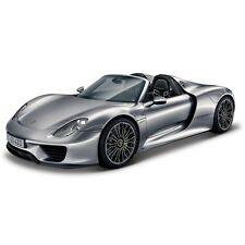 Bburago 1:24 Porsche 918 Spyder Scale Highly Detailed Model Car Vehicle