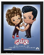 FRAMED GREASE MOVIE POSTER JOHN TRAVOLTA OLIVIA NEWTON-JOHN  SIGNED GIRLS ROOM