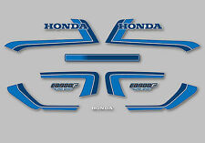 1982 Honda CB900F Super Sport - Silver decal set