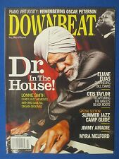 DOWN BEAT MAGAZINE MARCH 2008  DR LONNIE SMITH OSCAR PETERSON ELIANE ELIAS