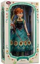 """Disney 17"""" Limited Edition Frozen Fever Anna Doll New LE LIMITED 5000"""