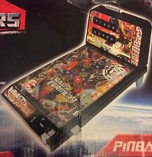 Transformers Pinball Table Top Machine  Game