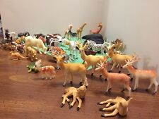 50 Plastic Toy Animals