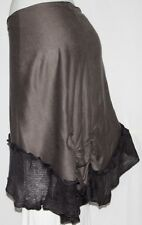 GRAY Tribal Steam Punk Belly Dance Dancing Burlesque Gothic Goth Shawl Hip Scarf