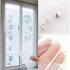 New Portable Insect Bug Mosquito Home Window Door Net Mesh Screen Sticky Tape S
