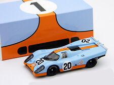 Porsche 917 K N° 20 du Golfe Siffert Redman 24h LeMans 1970 1:43 Brumm
