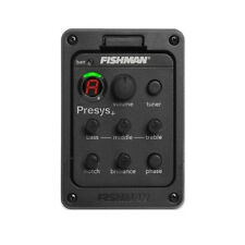 FISHMAN Presys Blend 301 Dual Mode Guitar Preamp EQ Tuner Piezo Pickup Mic Beat