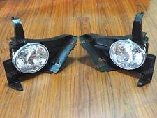 1Pair Clear Lens Bumper Fog Lights Driving Lamps for Honda CRV 2005-2006