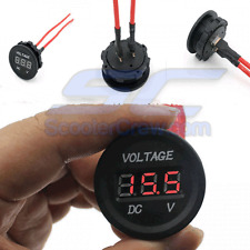 Battery Gauge Volt Meter Electric UTV Polaris RZR RZR4 XP 1000 Ranger 900 800 RV