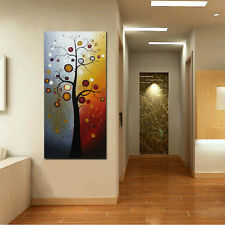 CHOP06 100% hand-painted abstract tree wall decor art oil painting on canvas
