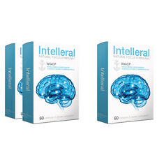 INTELLERAL -  Buy 2 Get 1 FREE! Clinically Proven Results Increasing Brain Power