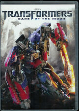 "DVD MOVIE ""TRANSFORMERS: DARK OF THE MOON"" SHIA LEBEOUF TYRESE GIBSON KEVIN DUNN"
