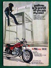 OC81 Pubblicità Advertising Clipping 19x13 cm (1977) MOTO KAWASAKI 750 POLITOYS