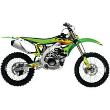 KAWASAKI KXF 250 ONE INDUSTRIES FMF GRAPHICS STICKER KIT KX250F 09 10 11 12