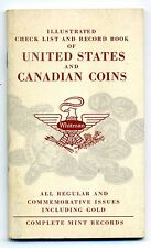 Illustrated Check List Record Book United States & Canadian Coins 1960 WHITMAN