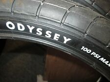 "ODYSSEY HAWK TIRE  2.40"" x 20"" 100psi PRESSURE DIRECT SCRIPT STREET SK8 park new"