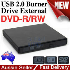 USB External RW Read And Write CD DVD Rom Burning Drive For Mac Laptop Notebook