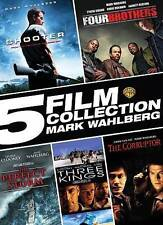 5 Film Collection Mark Wahlberg DVD Shooter/Four Brothers/Perfect Storm/Three Ki