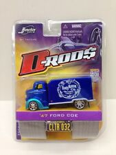 Jada Toys 47 Ford COE CLTR 032 1:64 D Rods Wave 3 Blue Ford Motor Co Error