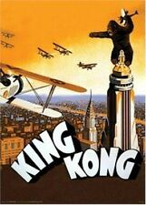 KING KONG - AIRPLANE MOVIE POSTER - 24x36 SHRINK WRAPPED - ATTACK TOWER 4570