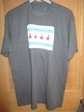 NEW Hamilton Broadway Musical OFFICIAL FLAG SHIRT MENS XXL GREY CHICAGO