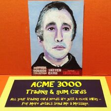 Unstoppable BRITISH HORROR COLLECTION - Sketch Card - JASON BROWER - SKSD1
