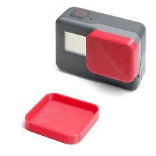 Linsen Schutz für GoPro Go Pro HERO 5 Lens Cap Protector Abdeckung Kappe Red